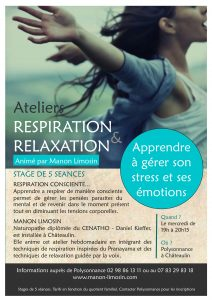 Atelier respiration relaxation